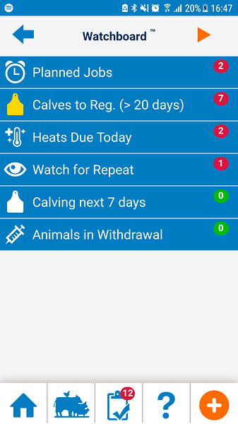 Breeding feature Herdwatch