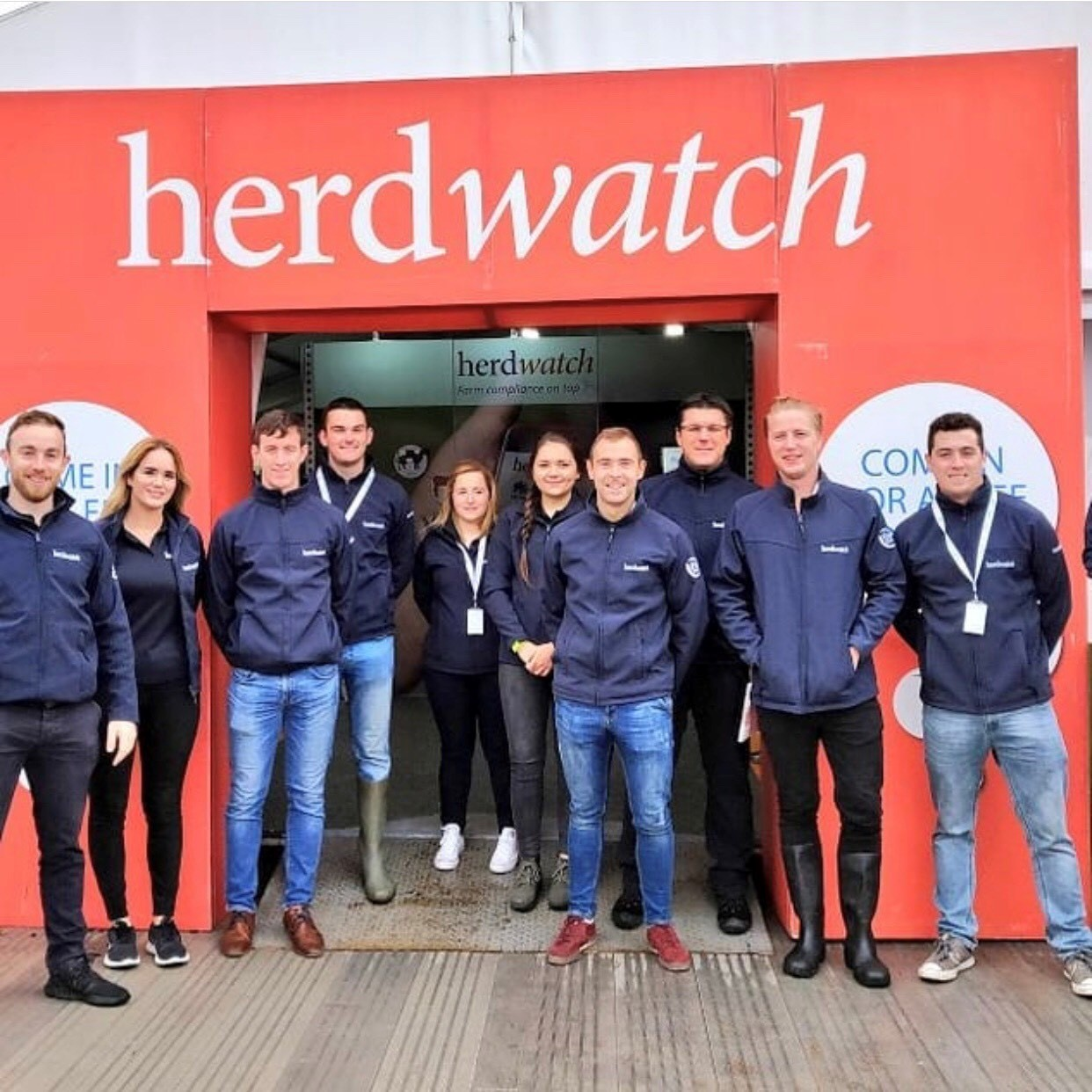 ploughing herdwatch team photo 15